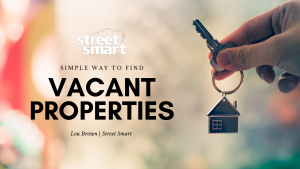 Finding vacant properties